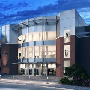 Dusk Architectural Rendering