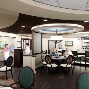 Lounge Architectural Rendering Interior